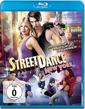 StreetDance: New York Blu-ray