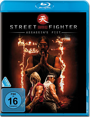 Street Fighter: Assassin's Fist Blu-ray