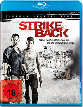 Strike Back: Staffel 1 Box Blu-ray (4 Discs)