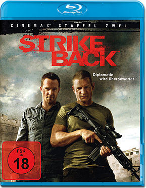 Strike Back: Staffel 2 Box Blu-ray (4 Discs)