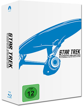 Star Trek 1-10: Stardate Collection Blu-ray (12 Discs)