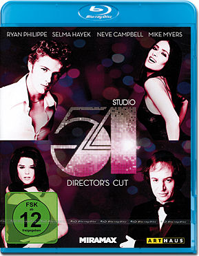 Studio 54 - Director's Cut Blu-ray