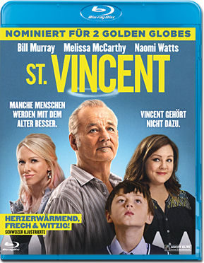 St. Vincent Blu-ray