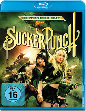 Sucker Punch - Extended Cut Blu-ray