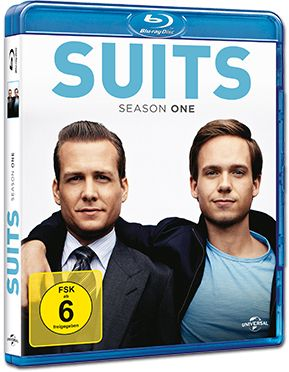 Suits: Staffel 1 Blu-ray (3 Discs)