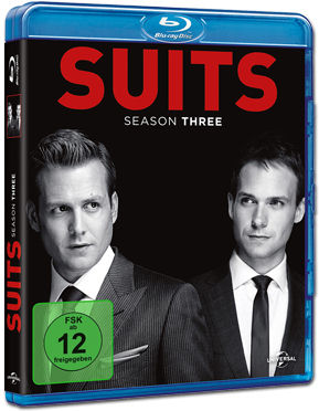 Suits: Staffel 3 Box Blu-ray (4 Discs)
