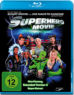 Superhero Movie Blu-ray