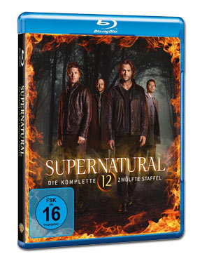 Supernatural: Staffel 12 Blu-ray (4 Discs)