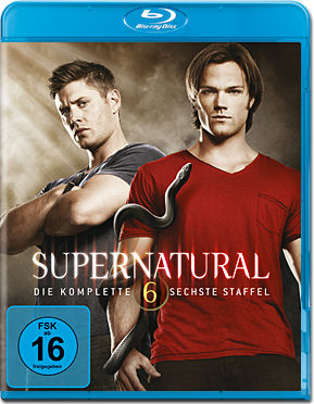 Supernatural: Staffel 06 Box Blu-ray (4 Discs)