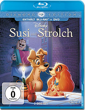 Susi und Strolch - Diamond Edition Blu-ray