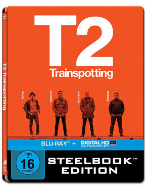 T2 Trainspotting - Steelbook Edition Blu-ray