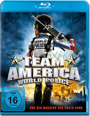 Team America: World Police Blu-ray