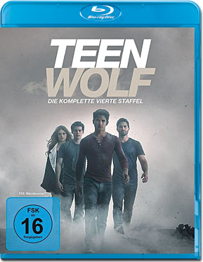 Teen Wolf: Staffel 4 Blu-ray (3 Discs)