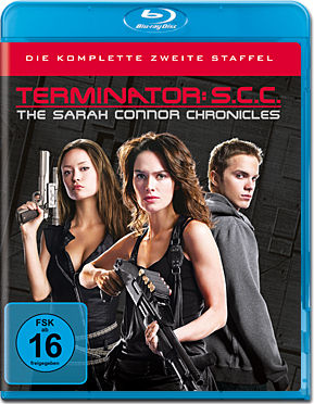 Terminator: The Sarah Connor Chronicles - Staffel 2 Box Blu-ray (5 Discs)
