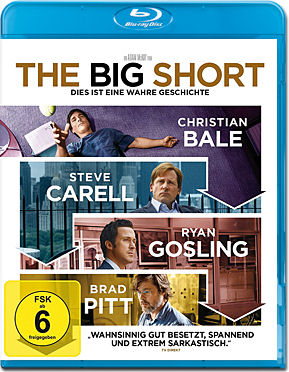 The Big Short Blu-ray