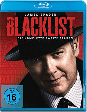 The Blacklist: Staffel 2 Box Blu-ray (6 Discs)