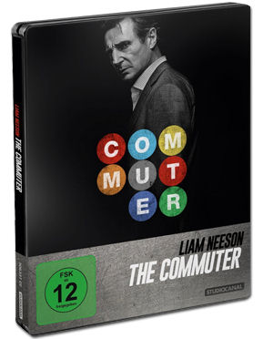 The Commuter - Steelbook Edition Blu-ray