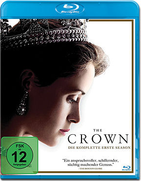 The Crown: Staffel 1 Blu-ray (4 Discs)