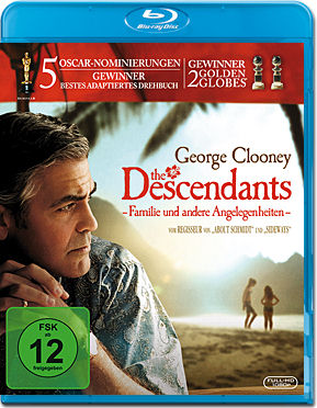 The Descendants Blu-ray