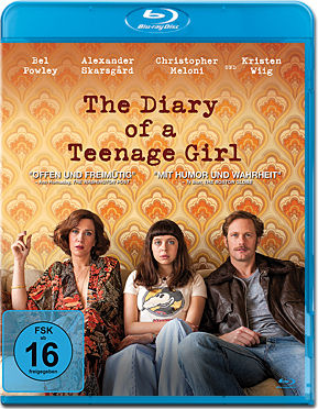 The Diary of a Teenage Girl Blu-ray