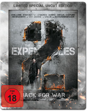 The Expendables 2: Back for War - Steelbook Edition Blu-ray