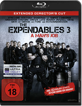 The Expendables 3 - Extended Director's Cut Blu-ray