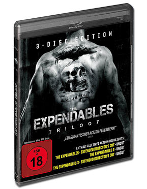 The Expendables - Trilogy Blu-ray (3 Discs)