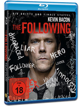 The Following: Staffel 3 Box Blu-ray (3 Discs)