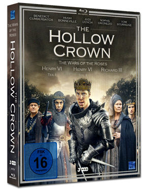 The Hollow Crown: Staffel 2 Box - The Wars of the Roses Blu-ray (3 Discs)