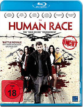 The Human Race Blu-ray