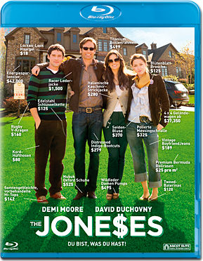 The Joneses Blu-ray