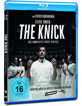 The Knick: Staffel 1 Box Blu-ray (4 Discs)