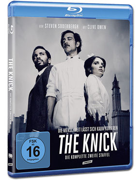 The Knick: Staffel 2 Box Blu-ray (4 Discs)