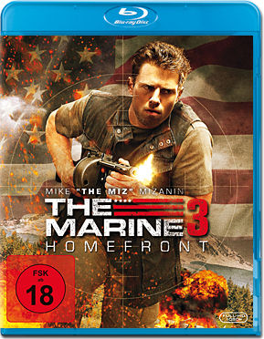 The Marine 3: Homefront Blu-ray