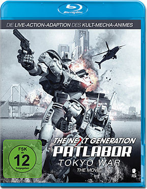 The Next Generation: Patlabor - Tokyo War Blu-ray