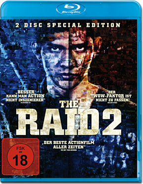 The Raid 2 - Special Edition Blu-ray (2 Discs)