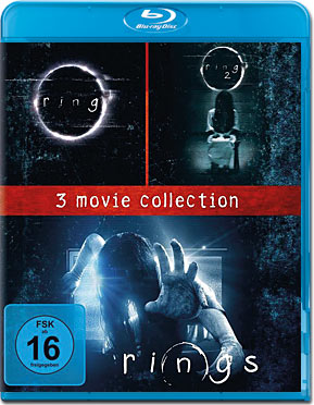 Ring - 3 Movie Collection Blu-ray (3 Discs)
