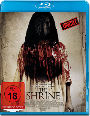 The Shrine Blu-ray