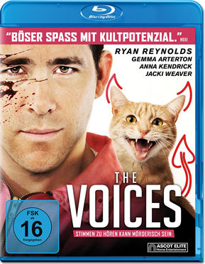 The Voices Blu-ray