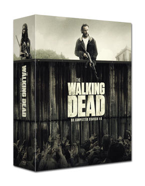 The Walking Dead: Staffel 1-6 Box Blu-ray (26 Discs)