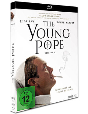 The Young Pope - Der junge Papst: Staffel 1 Box Blu-ray (3 Discs)