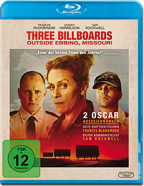 Three Billboards Outside Ebbing, Missouri Blu-ray