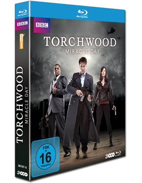 Torchwood: Staffel 4 - Miracle Day Blu-ray (3 Discs)