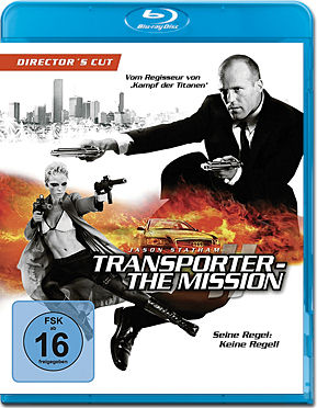 Transporter 2: The Mission - Director's Cut Blu-ray