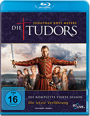Die Tudors: Season 4 Box Blu-ray (3 Discs)