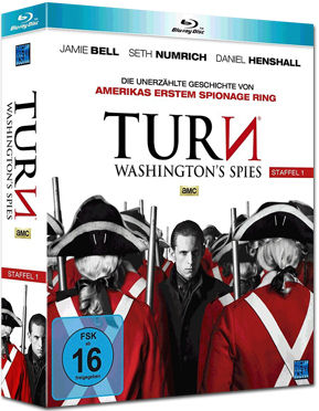 Turn: Washington's Spies - Staffel 1 Box Blu-ray (4 Discs)