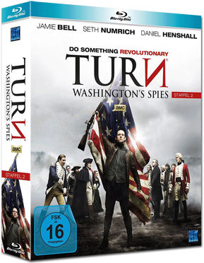 Turn: Washington's Spies - Staffel 2 Box Blu-ray (4 Discs)