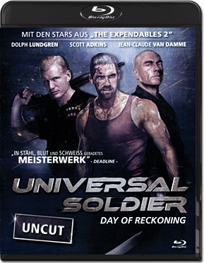 Universal Soldier: Day of Reckoning Blu-ray
