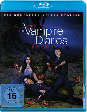 The Vampire Diaries: Die komplette Staffel 3 Box Blu-ray (4 Discs)