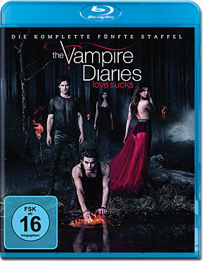 The Vampire Diaries: Die komplette Staffel 5 Box Blu-ray (4 Discs)
